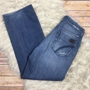 Joe's Jeans | Rebel Distressed Denim Strai…